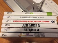 Nintendo Wii with Games Toronto