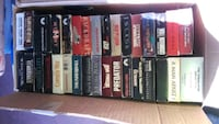 2 boxes of VHS tapes $25.00 Powder Springs, 30127