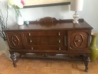Solid Wood Buffet / Credenza / Sideboard - Storage Mississauga, ON, Canada