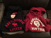 Abercrombie & Fitch Men's Hoodies - Muscle Fit Small