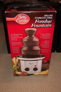 Betty Crocker fondue fountain