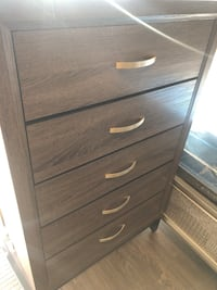 Chest 5 drawers $199