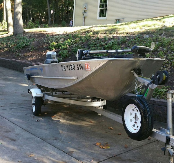 Used Fishing Boats For Sale >> 14 Ft Grumman Fishing Boat