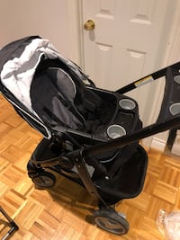 Baby's black and gray stroller Toronto, M9R 3W9