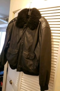 Real Black Leather Mink Coat  District Heights, 20747