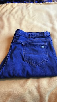 1 Pair of Key Brand Blue Jeans size 42 by 34