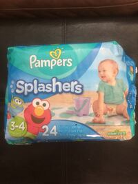 Pampers Swaddlers disposable diaper pack