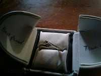 silver and diamond ring in box Ellenwood, 30294