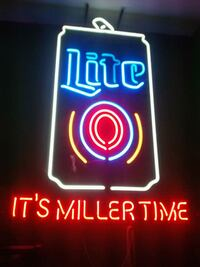 Lite miller ( Neon ) Bar light 50$ Maspeth, 11378
