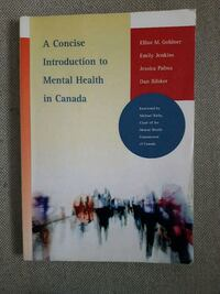A concise introduction to mental health in canada Vancouver, V5N 5Y3
