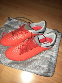 Pair of Red and Silver Hypervenom Football Boots Slough, SL2 1LE