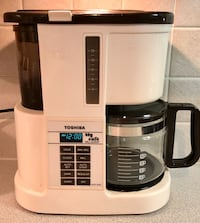 VINTAGE TOSHIBA MILL & BREW COFFEE MAKER - works great