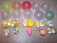 25 Disney assorted PEEK A POOH danglers  Vaughan