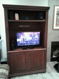 Entertainment Center for Sale Solid wood Austin, 78748
