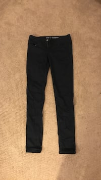 black american eagle jeans size 4 long