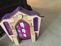 purple and white plastic dollhouse San Diego, 92108